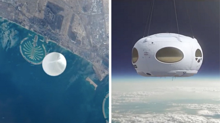 Spanish Company Will Send Tourists To Space On Helium Balloons