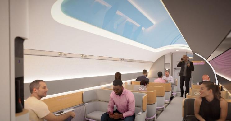 Virgin Hyperloop's Video of New Pod Design Belongs in a Sci-Fi Movie