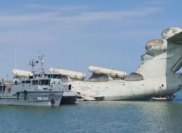 Russia Is Museumizing Its Only Missile-Carrying Ekranoplan for All to See