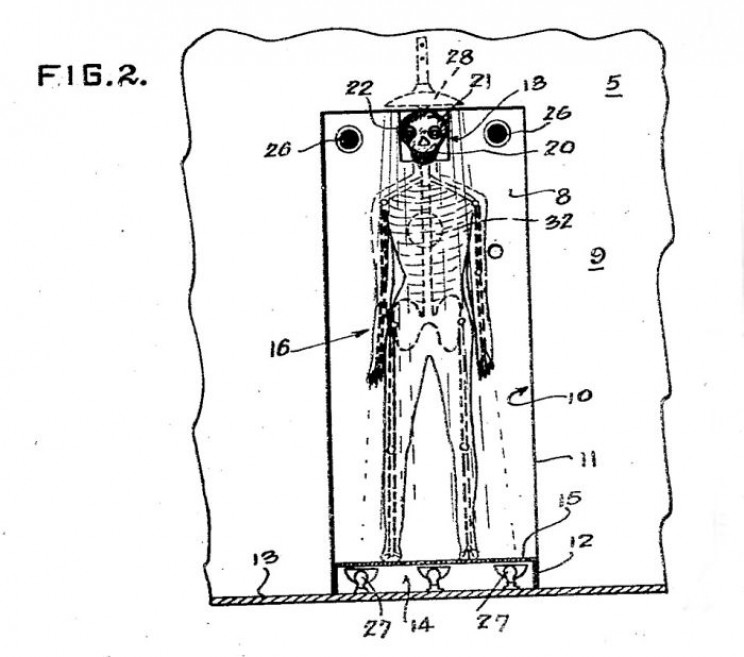 Meet the Red-Eyed Skeleton Designed to Scare Criminals into Confessing Their Crimes