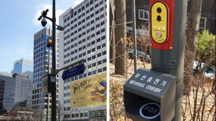 Seoul's Smart Traffic Lights Will Charge EVs and Drones