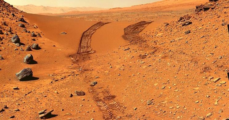 Curiosity Mars Surface