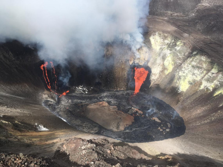 Hawaiian Volcano Back in Action after Two-Year Break