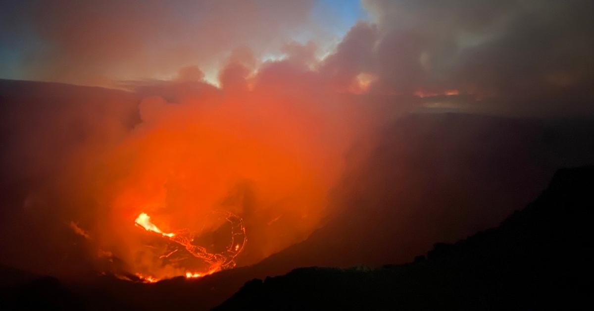 earths core lava
