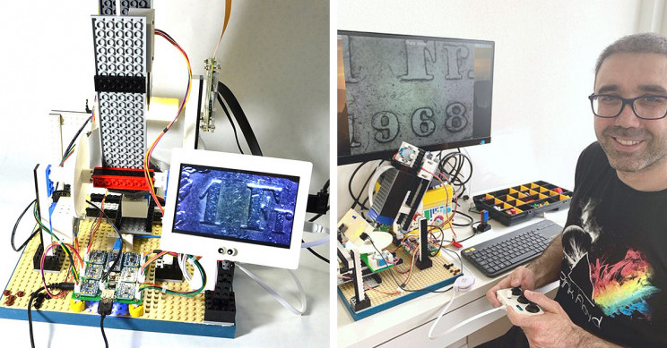 IBM Engineer Builds $300 Microscope Using LEGO, Arduino, and Raspberry Pi