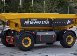 A World-First: Volvo Unveils Its New Vehicle Made of Fossil-Free Steel