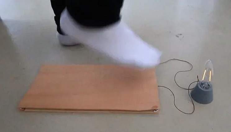 Electric Footsteps? Novel Wooden Floors Generate Power From Walking