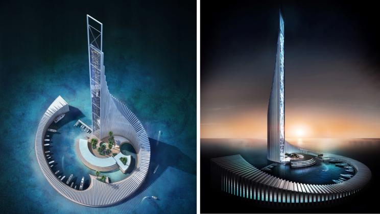Zanzibar to Build Domino-Shaped Tower on a Human-Made Island