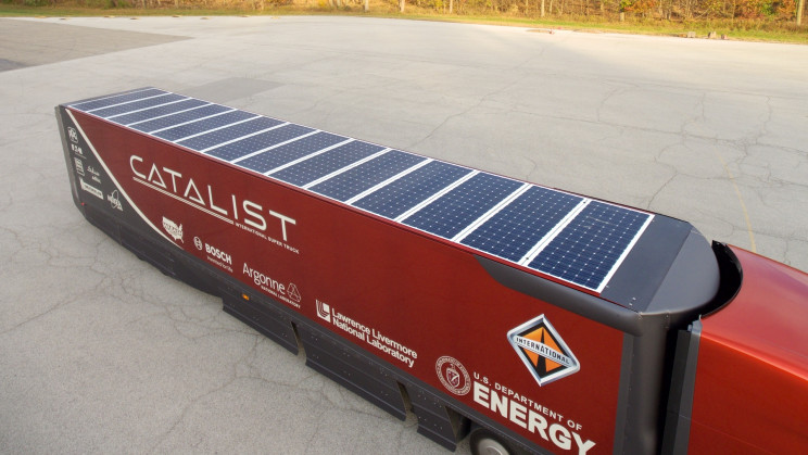 Solar-Powered Trucks Can Tackle Refrigeration Emissions