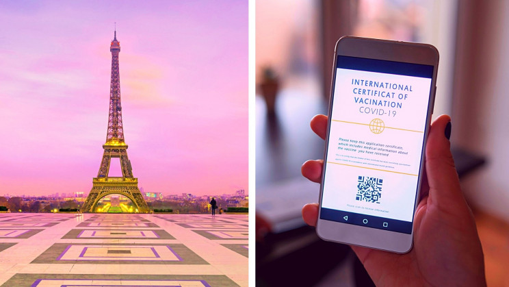 It's Official. France Requires COVID-19 Health Passes to Dine and Travel