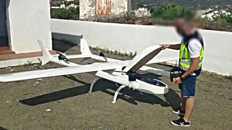 Police Capture Massive 5-Engine Drone That's Used for Drug Transportation