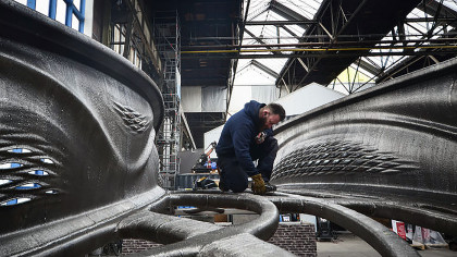 The World's Largest 3D-Printed Steel Bridge Is Built by Robots in 6 Months