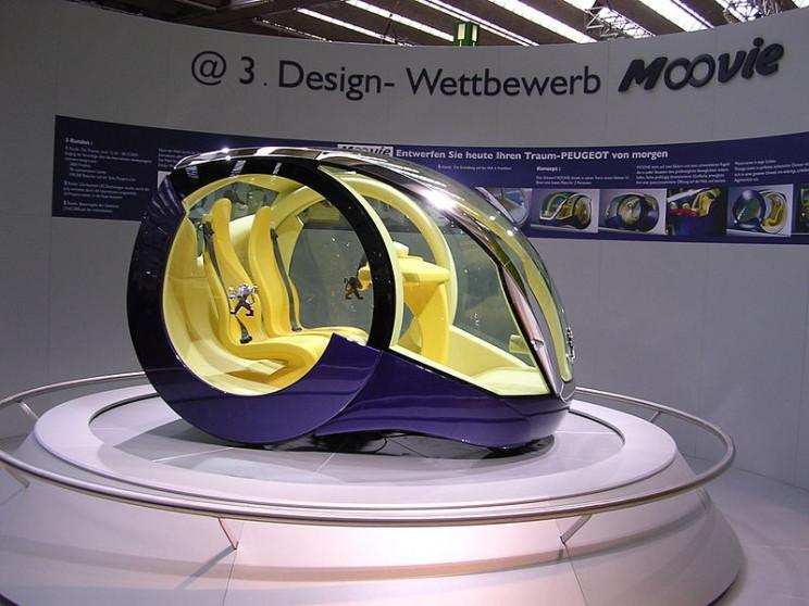 weirdest concept cars moovie