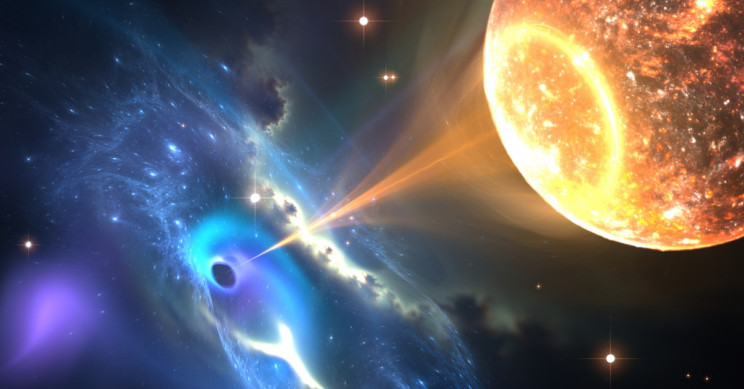 Like Pac-Man: Scientists Believe They Detected a Black Hole Swallowing a Neutron Star
