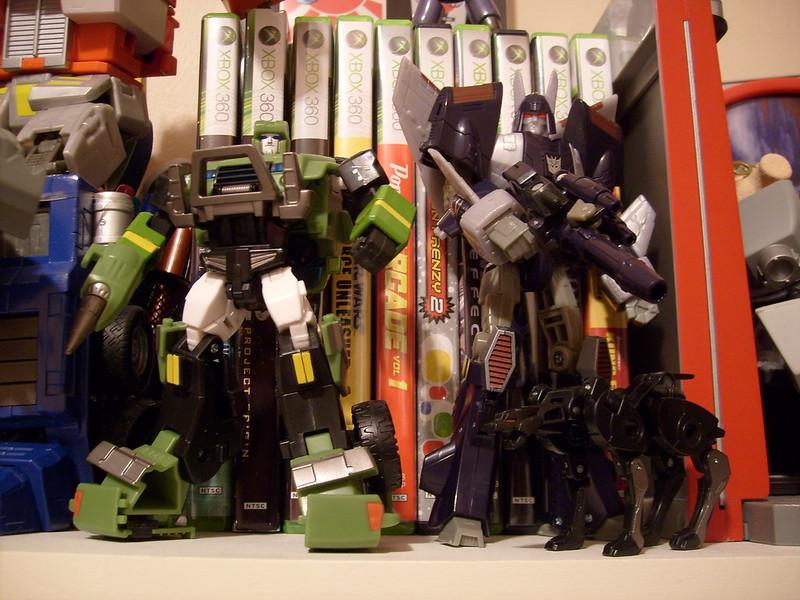 designing transformers bookshelf