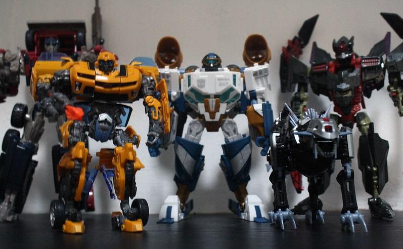 transformer toys lineup