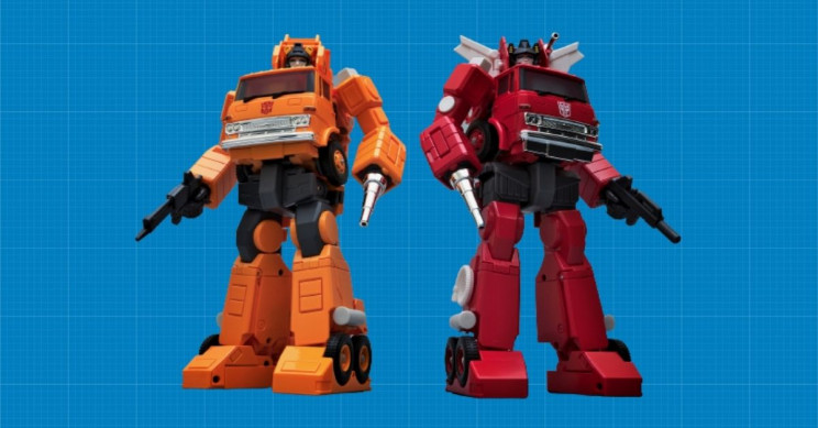 The Design Process of Transformers Toys