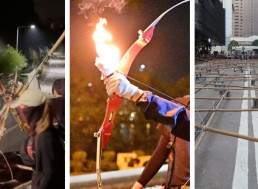 Engineers Are Building Catapults, Slingshots and Barricades in Hong Kong Protests