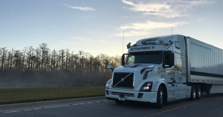 Heavy-Duty Driverless Truck Reached 55 mph on a Florida Highway