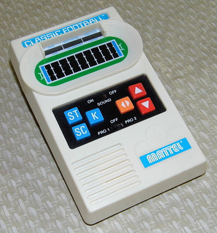 70s and 80s toys electronic football