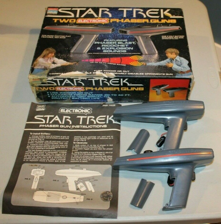 70s 80s tech toys phasers