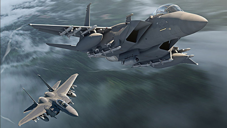 US Air Force Receives First F-15EX Jet From Boeing