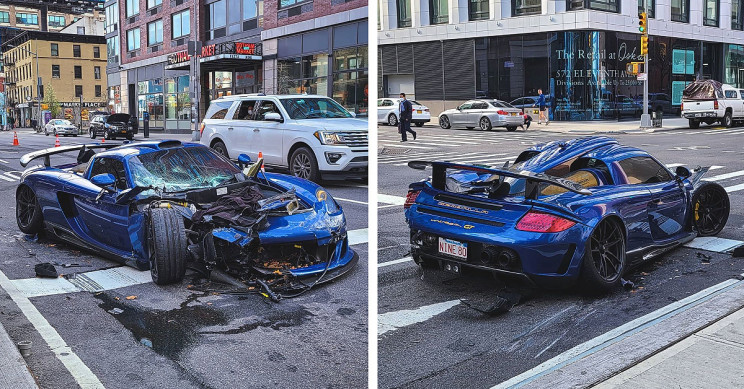 Driver Crashes Ultra-Rare $750,000 Gemballa Mirage GT in Hit-and-Run Rampage