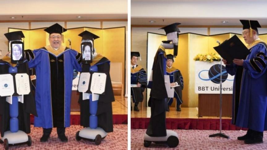 Robot Graduation: Japanese University Hosts Ceremony Amid COVID-19