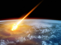 What is the Probability of a Huge Civilization-Ending Asteroid Impact?