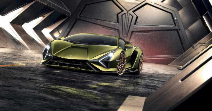 Lamborghini Unveils the Hybrid Sián, Its Most Powerful Supercar