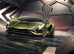 Lamborghini Unveils the Hybrid Sián, Its Most Powerful Supercar