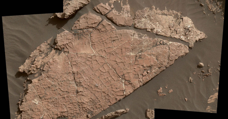 NASA's Curiosity Rover Finds Ancient Dried up Oasis on Mars