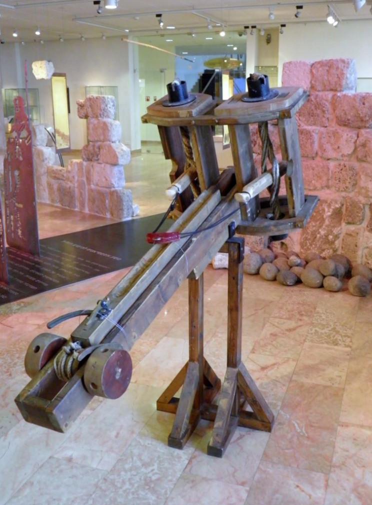 siege weapons ballista