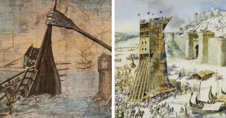 7 Common but Lesser-Known Siege Weapons from Antiquity