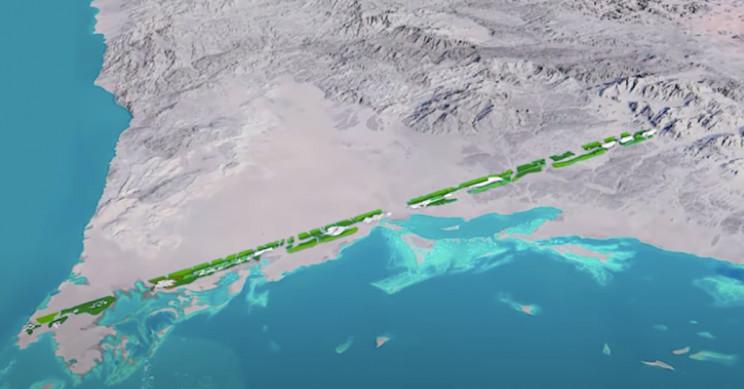 Saudi Arabia's Zero-Carbon City Blueprint Shows No Roads, No Cars