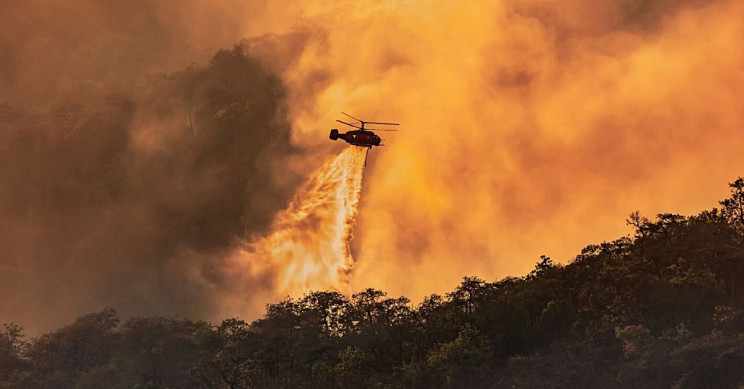 Wildfire Smoke Cloud Research Improves Climate Predictions