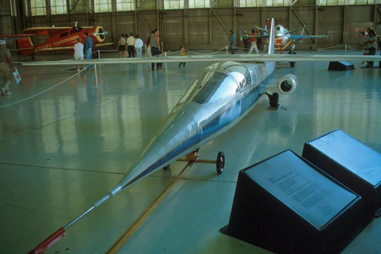 NASA AD-1 on display