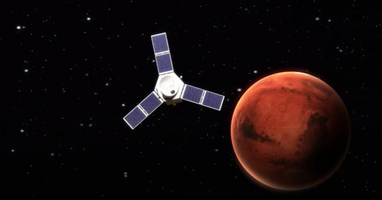 UAE's Hope Probe Is Arriving at Mars This Week