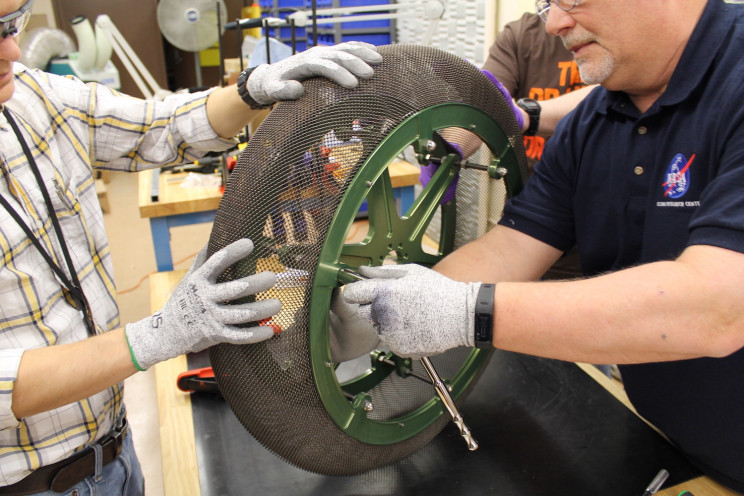 NASA Rover Tech Used for Eco-Friendly Rubber Tire Alternative