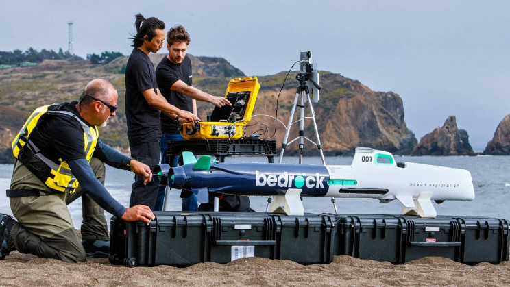 Autonomous Subs to Map the Seafloor For Suitable Offshore Wind Farm Locations