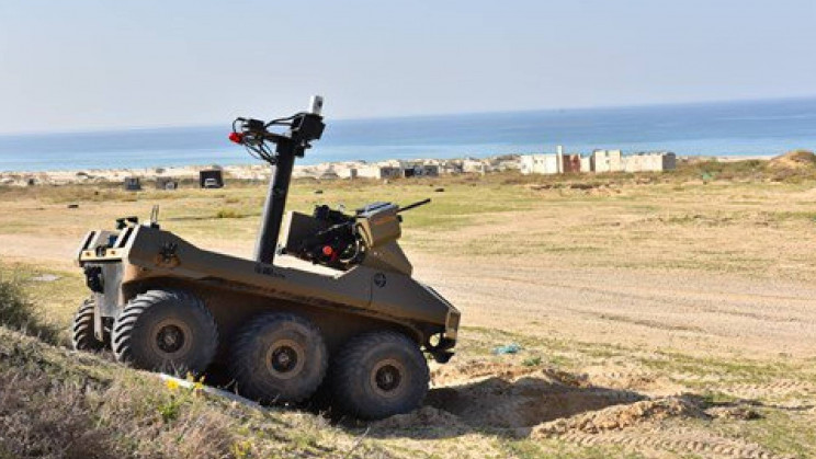 Israel's Semi-Autonomous Robot With Machine Guns is Heading to the Gaza Border