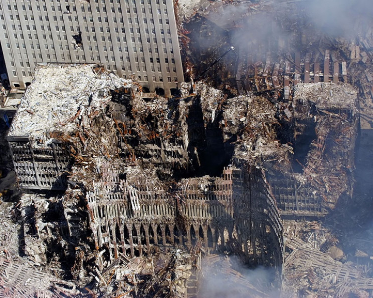 World Trade Center after collapse