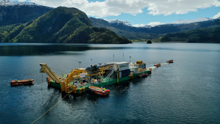 Construction of the World's Longest Subsea Power Cable Has Now Passed the Halfway Point