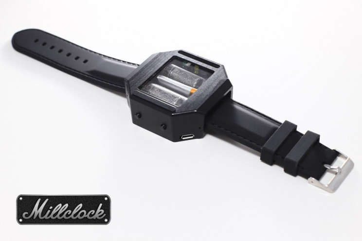 millclock wrist watch