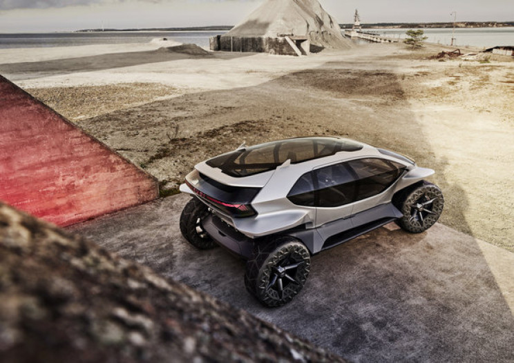 Audi Presents the Vehicle of the Future: Audi AI:Trail Quattro