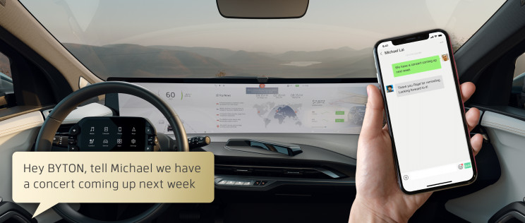 """Tesla's Competitor BYTON's """"Future Proof"""" Car M-Byte Is Ready to Go Later In 2020"""