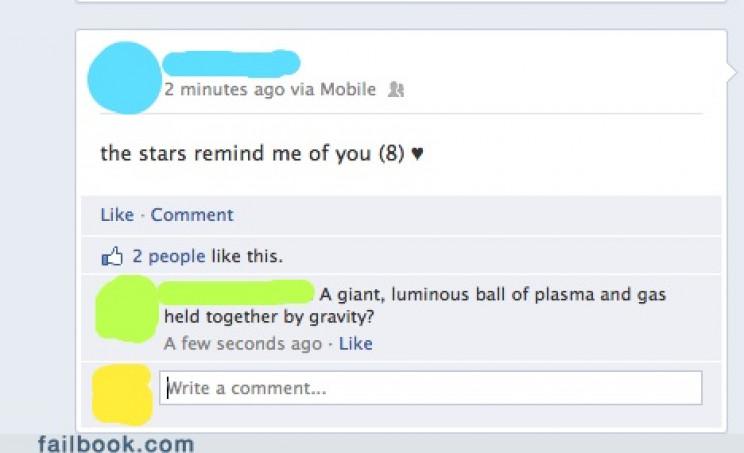 astronomy fails compliment
