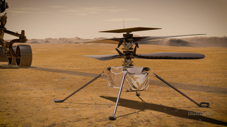 NASA's Mars Helicopter Ingenuity Space Tested For the First Time