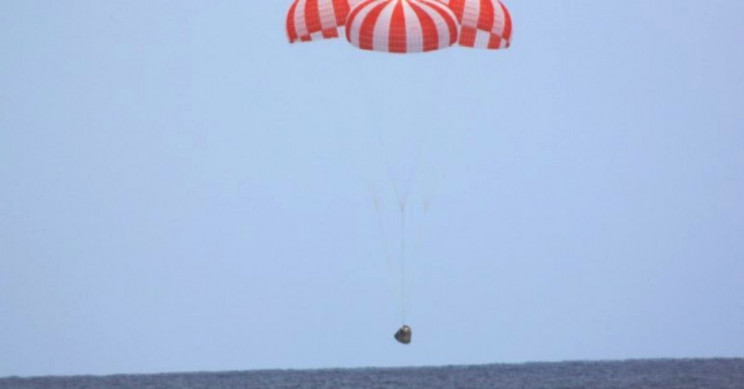 SpaceX's Crew Dragon Executes First Successful US Splashdown Since 1975