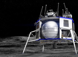 Bezos' Blue Origin Creates Team to Build Lunar Lander for NASA
